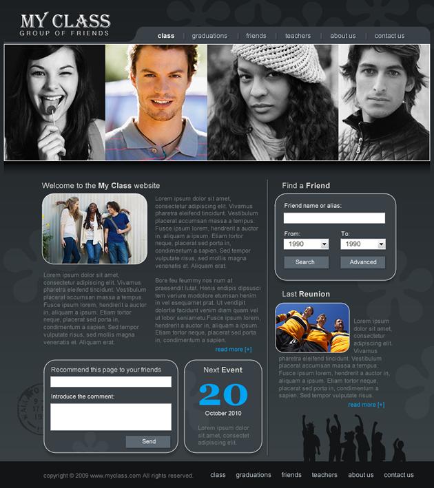 шаблоны сайтов для dreamweaver: